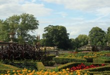 The gardens of Charlecote Park