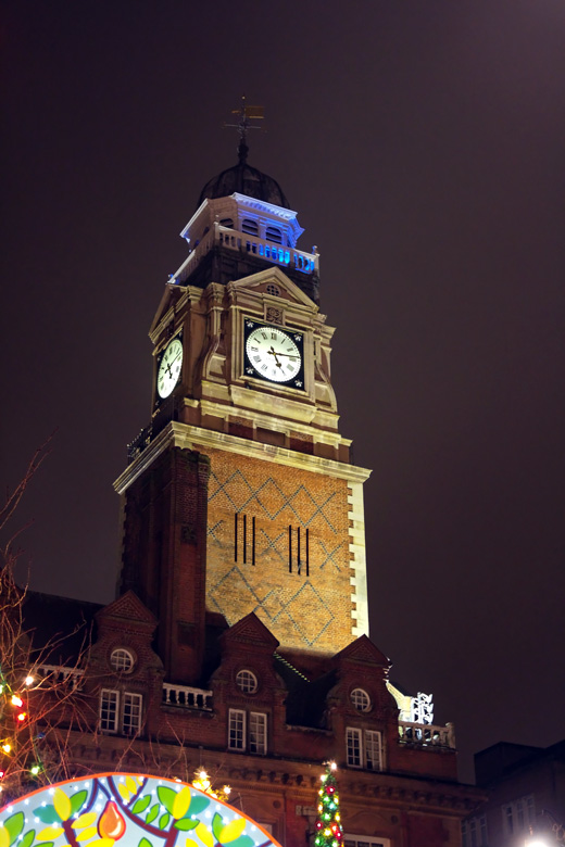 Leicester Town Hall tower