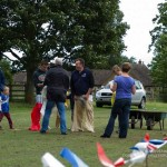 Preparing for the adult sack race