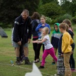 Welly wanging was very popular with all ages