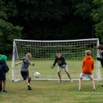 The penalty shoot out